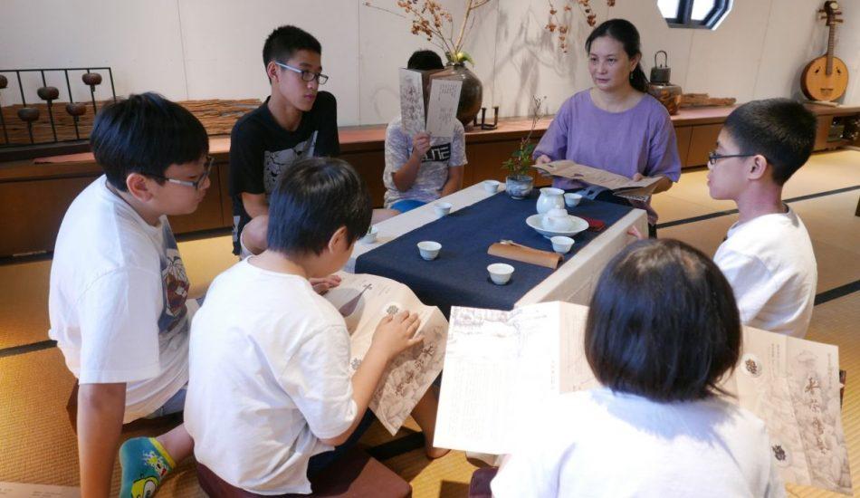 2019小茶人全能冬令營 —茶藝、花藝、針線